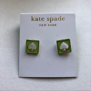 Kate Spade Light Green Stud Earring